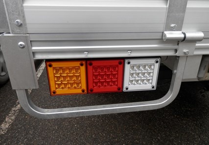 LED tail lights for utes