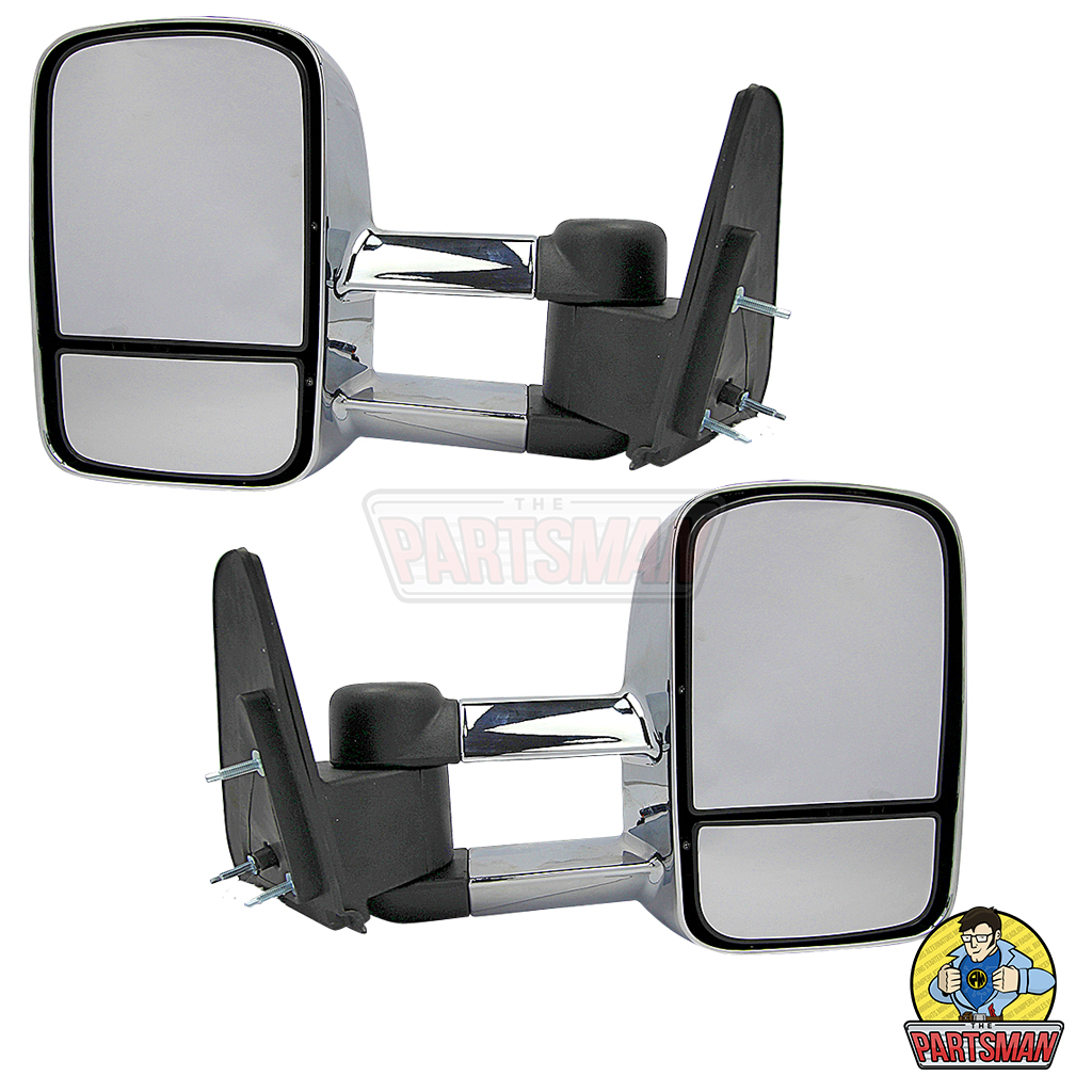 Isuzu M-UX towing mirrors